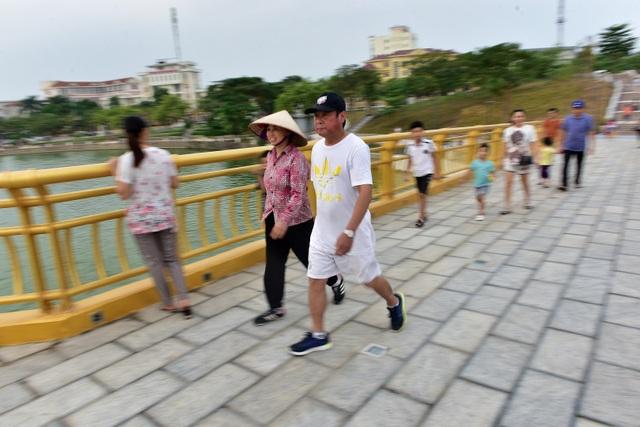 Toàn cảnh cây cầu đi bộ với kiến trúc tháp 7 tầng độc nhất vô nhị tại Phú Thọ - 6