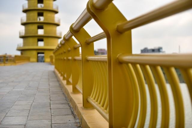 Toàn cảnh cây cầu đi bộ với kiến trúc tháp 7 tầng độc nhất vô nhị tại Phú Thọ - 4