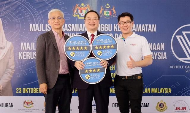 VinFast đạt chứng nhận an toàn ASEAN NCAP 5 sao cho Lux SA2.0 và Lux A2.0. và 4 sao cho Fadil - 2