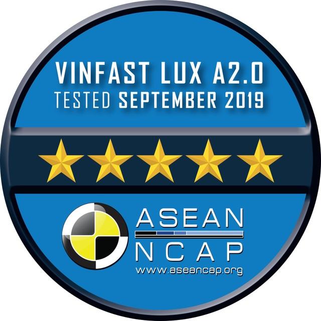 VinFast đạt chứng nhận an toàn ASEAN NCAP 5 sao cho Lux SA2.0 và Lux A2.0. và 4 sao cho Fadil - 3