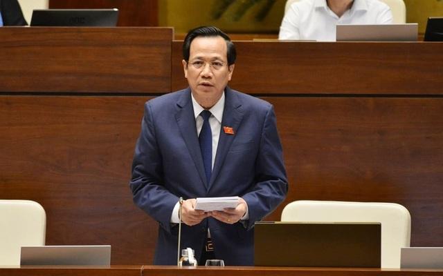 Bộ trưởng Lao động: Giảm thời gian làm việc xuống 44 giờ/tuần, GDP giảm 0,5% - 1
