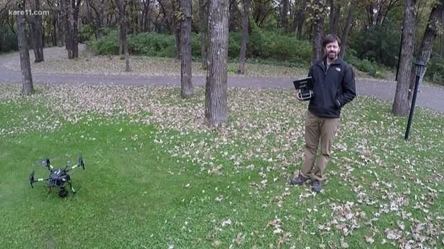 Ly kỳ hành trình giải cứu bé trai 6 tuổi bị mất tích bằng drone - 4