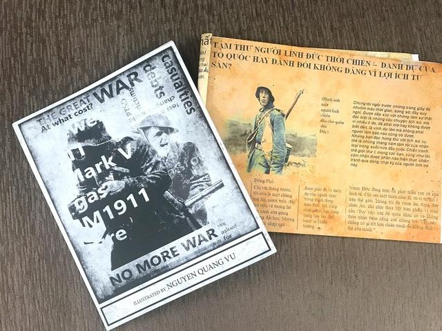 Học sinh Hà Nội sáng tạo bài tập Lịch sử theo phong cách báo chí - 4