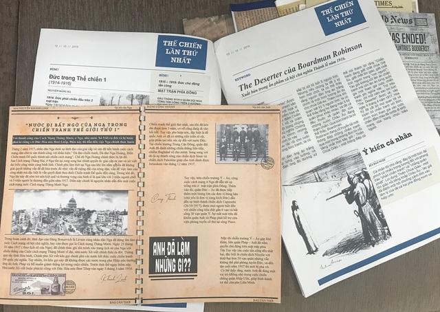 Học sinh Hà Nội sáng tạo bài tập Lịch sử theo phong cách báo chí - 5
