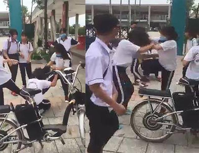 Vụ nữ sinh bị đánh hội đồng: Cảnh cáo, khiển trách 19 học sinh đánh nhau, cổ vũ - 1