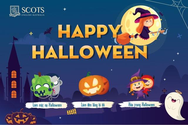 Mùa lễ hội Halloween với nhiều trò chơi và quà tặng đặc biệt tại Scots English Australia - 1
