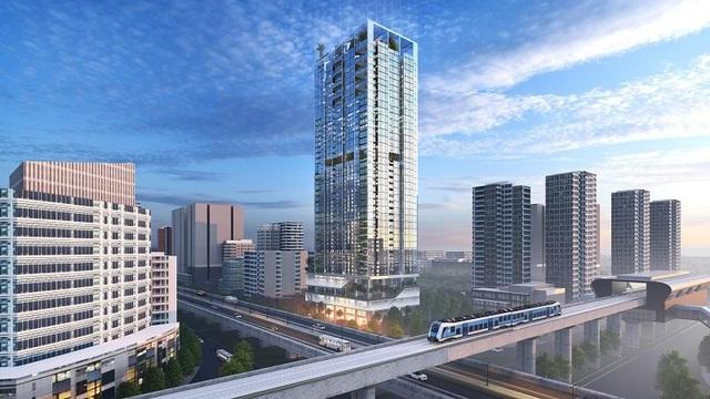 Hé lộ biểu tượng kiến trúc mới của quận Thanh Xuân - 1
