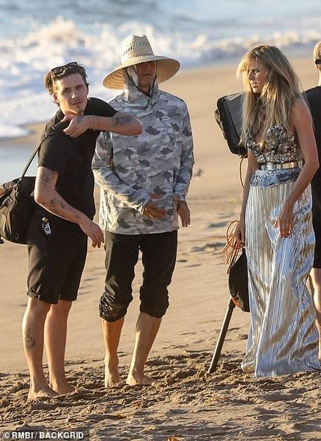 Brooklyn Beckham xuất hiện bên Heidi Klum - 2