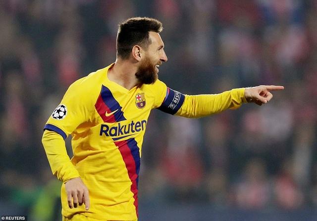 Messi ghi bàn, Barcelona hạ Slavia Praha và vươn lên ngôi đầu bảng - 3