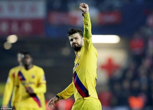 Messi ghi bàn, Barcelona hạ Slavia Praha và vươn lên ngôi đầu bảng - 4