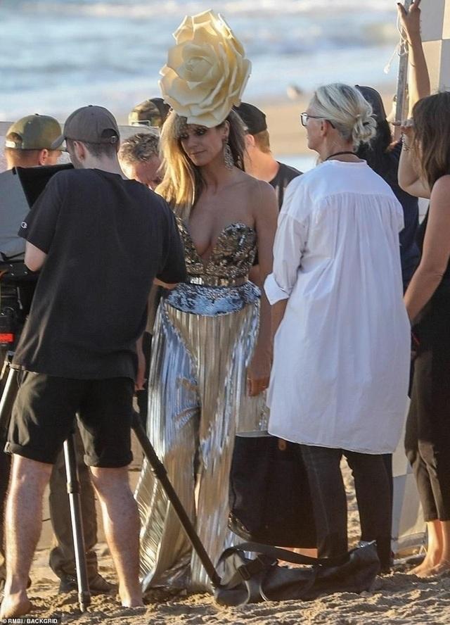 Brooklyn Beckham xuất hiện bên Heidi Klum - 6