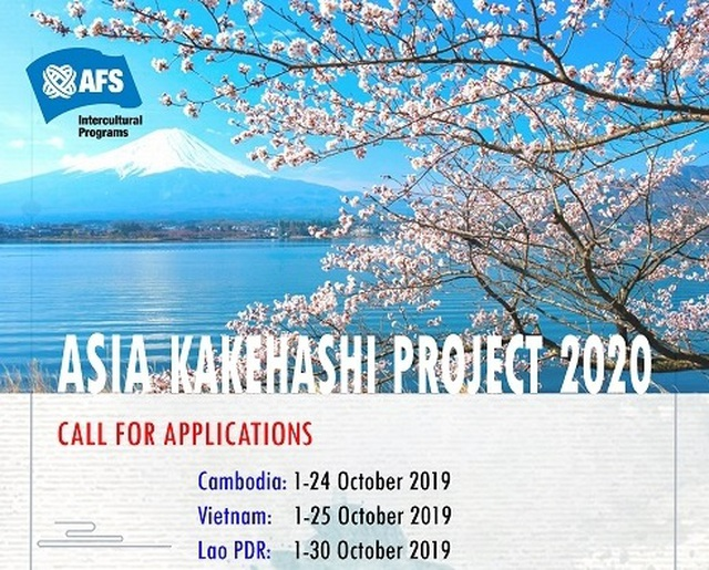 4 học bổng du học, thực tập ở châu Á hấp dẫn mở đơn từ tháng 10/2019 - 4