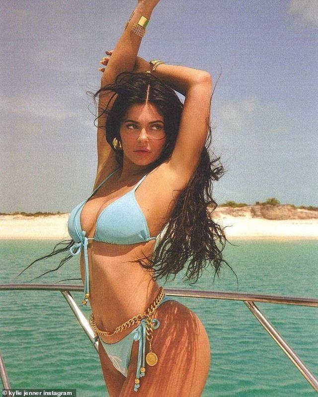 Kylie Jenner quá khác lạ khi thiếu son phấn - 7