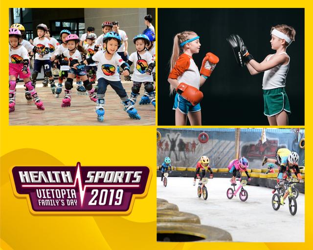 Cơ hội nhận vé tham dự ngày hội gia đình Vietopia Health  Sports Day 2019 - 3