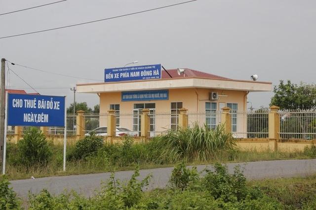 """Bến xe hơn 14 tỷ đồng ở phía Nam thành phố Quảng Trị """"vắng như chùa bà đanh""""! - 1"""