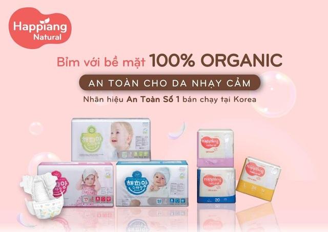 Doanh nghiệp ngoại gia nhập thị trường Việt với sản phẩm tã bỉm hữu cơ - 1