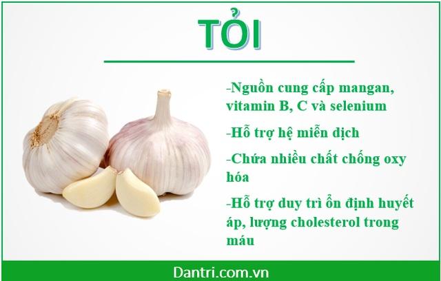Những siêu thực phẩm ngay trong mâm cơm hàng ngày của người Việt - 3