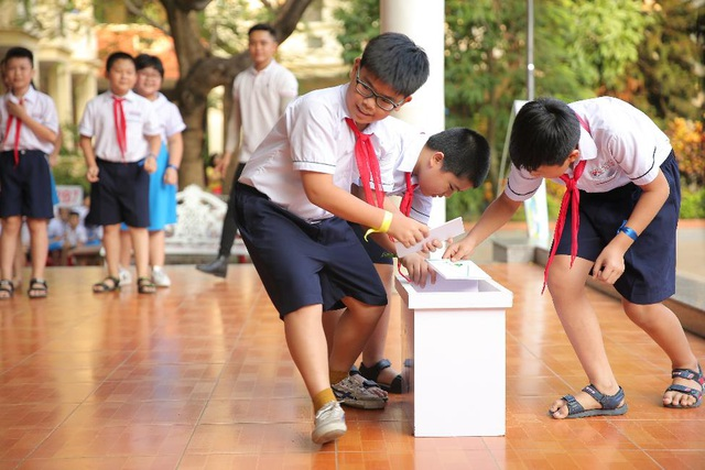 Giúp trẻ em tìm thấy niềm vui bảo vệ môi trường - 1