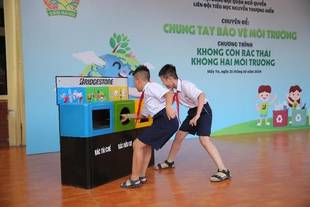 Giúp trẻ em tìm thấy niềm vui bảo vệ môi trường - 2