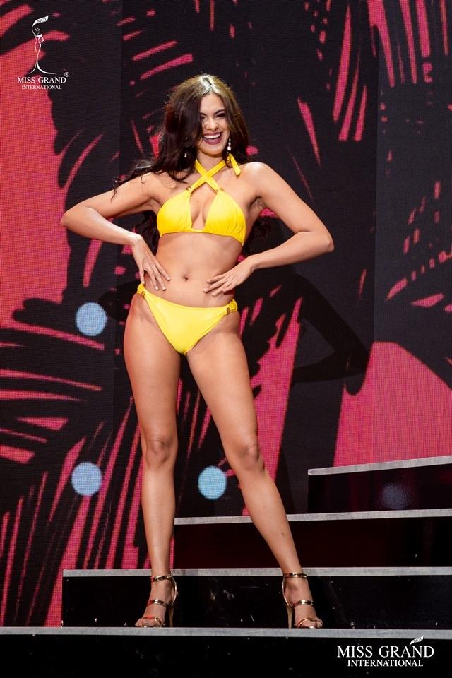 Ngắm dàn thí sinh Hoa hậu hoà bình quốc tế 2019 bốc lửa với áo tắm - 48