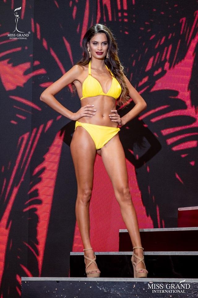 Ngắm dàn thí sinh Hoa hậu hoà bình quốc tế 2019 bốc lửa với áo tắm - 38