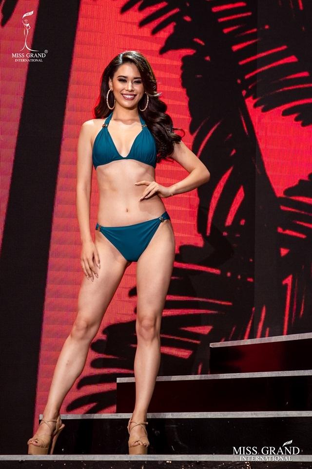 Ngắm dàn thí sinh Hoa hậu hoà bình quốc tế 2019 bốc lửa với áo tắm - 46