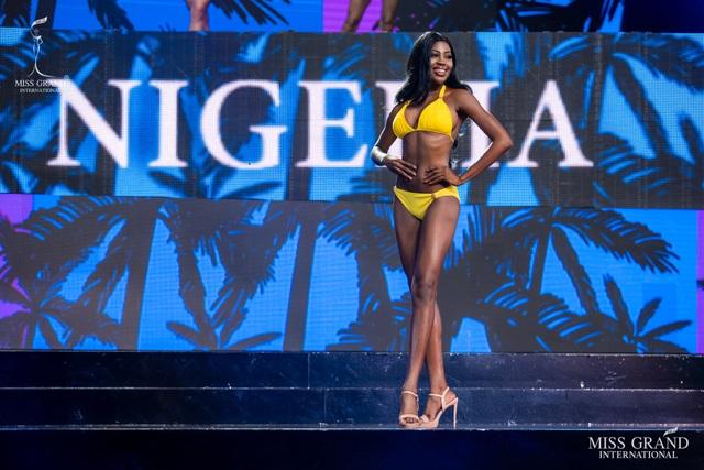 Ngắm dàn thí sinh Hoa hậu hoà bình quốc tế 2019 bốc lửa với áo tắm - 23