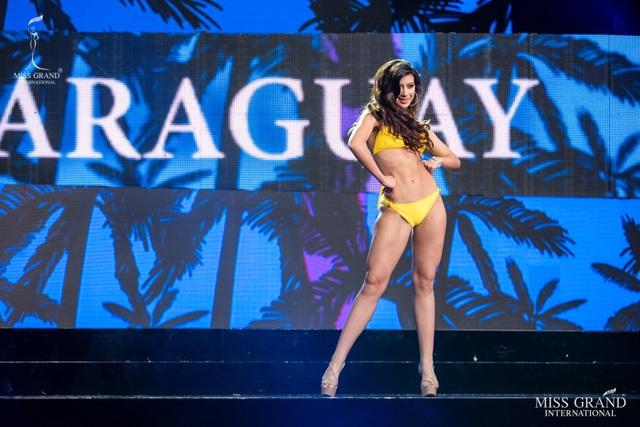 Ngắm dàn thí sinh Hoa hậu hoà bình quốc tế 2019 bốc lửa với áo tắm - 25