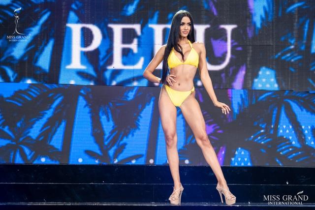 Ngắm dàn thí sinh Hoa hậu hoà bình quốc tế 2019 bốc lửa với áo tắm - 12