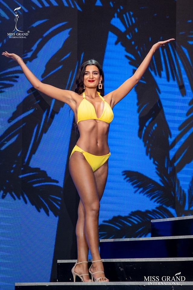 Ngắm dàn thí sinh Hoa hậu hoà bình quốc tế 2019 bốc lửa với áo tắm - 42