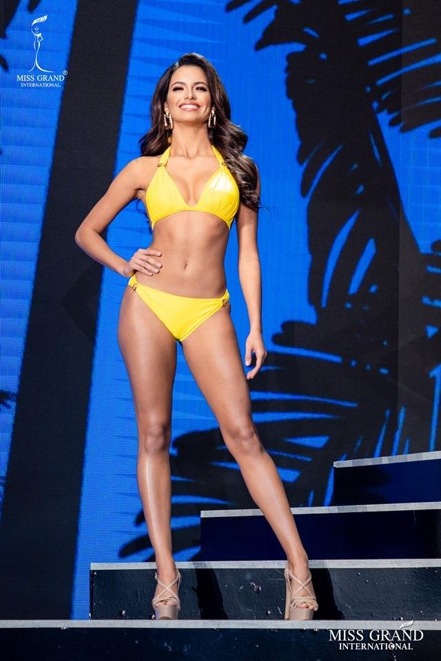 Ngắm dàn thí sinh Hoa hậu hoà bình quốc tế 2019 bốc lửa với áo tắm - 45