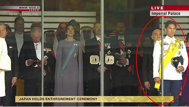 Hoàng tử 9X Brunei gây chú ý tại lễ đăng quang Nhật hoàng Naruhito - 1