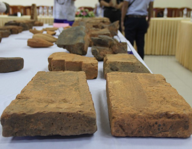 Khai quật phế tích tháp Xuân Mỹ thu 525 hiện vật thế kỷ XI-XII - 4