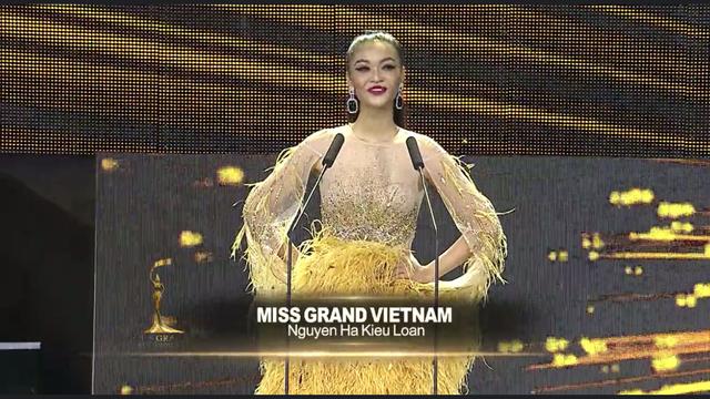 Kiều Loan toả sáng trong đêm bán kết Miss Grand International - 1