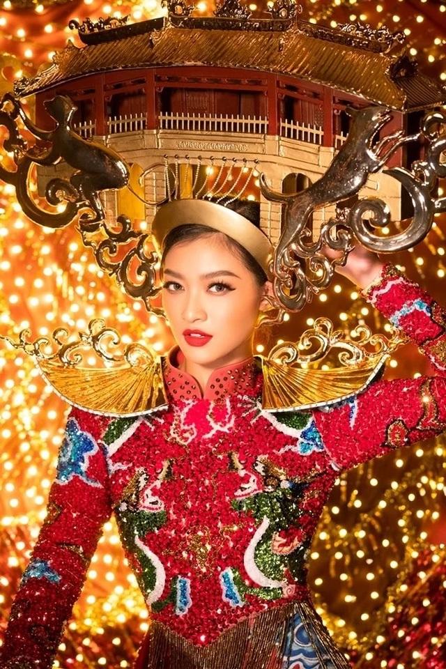Việt Nam lọt top 20 bộ trang phục dân tộc đẹp nhất Hoa hậu hoà bình quốc tế 2019 - 2
