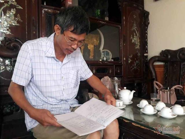 Người đàn ông Hà Nội hiến đất hàng trăm triệu xây đường - 1