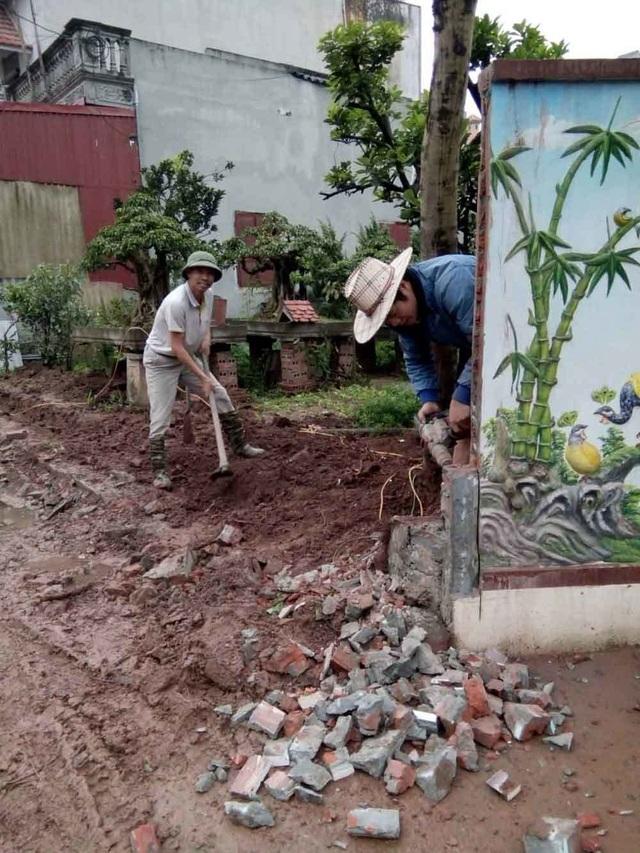 Người đàn ông Hà Nội hiến đất hàng trăm triệu xây đường - 2