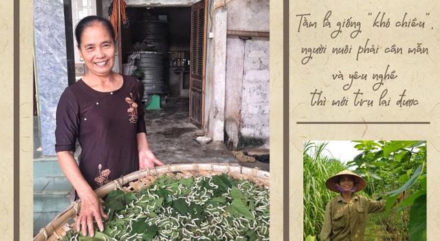 Thăm làng nghề trồng dâu nuôi tằm còn sót lại ở xứ Nghệ - 1