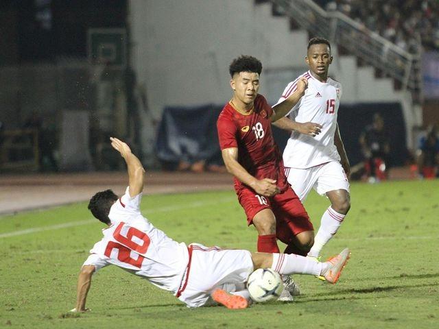 Getting ready to play U23 Vietnam, U23 UAE invites 5 major Asian players to play friendly - 1