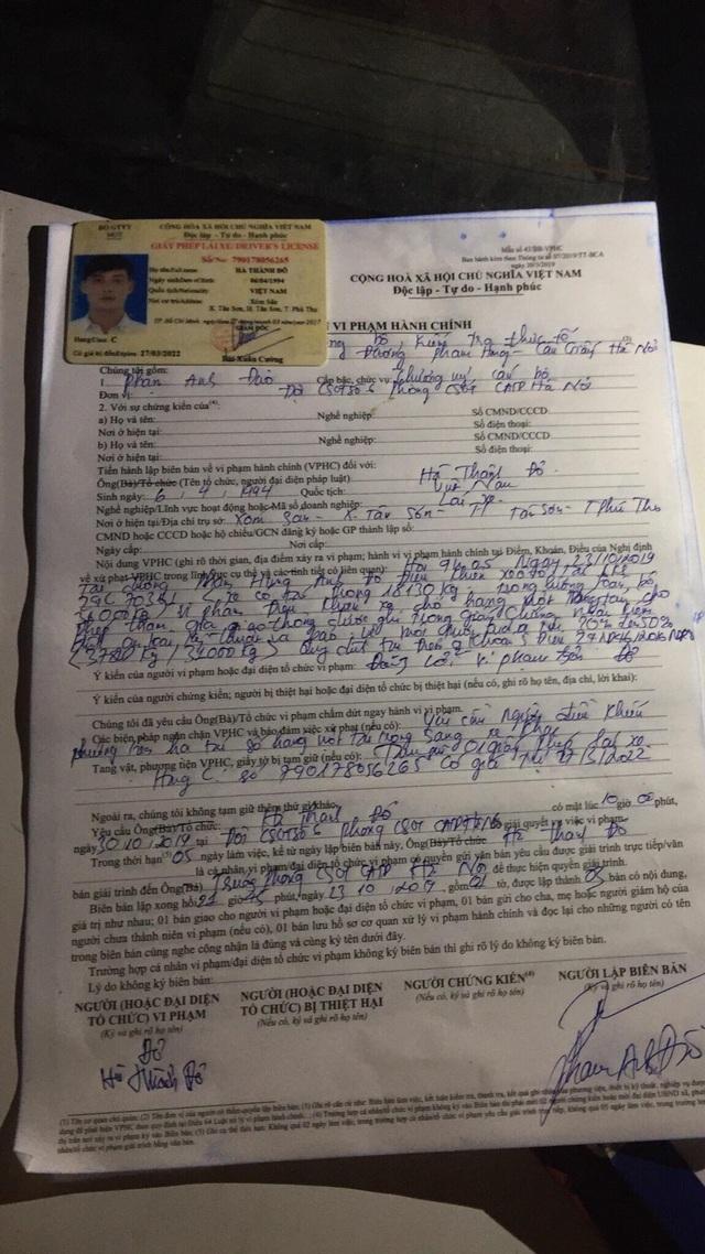 Bị CSGT kiểm tra, hàng loạt tài xế xe quá tải gọi điện cho người thân - 6