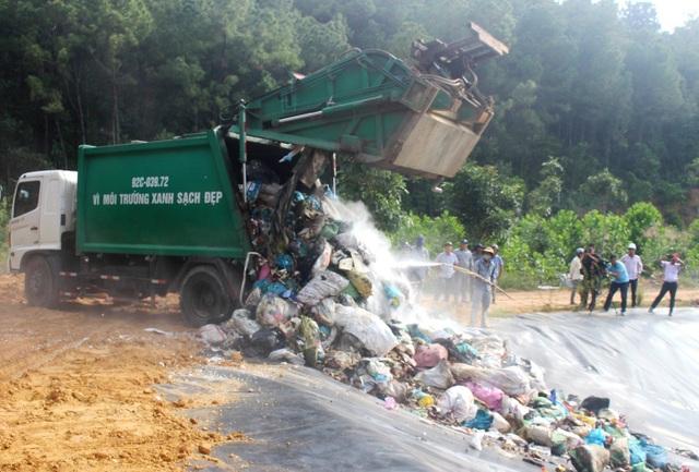 Khủng hoảng rác thải ở Quảng Nam