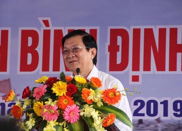 """Nguyên Chủ tịch nước Trương Tấn Sang kêu gọi chi viện giúp ngư dân Bình Định gỡ """"thẻ vàng"""" - 1"""
