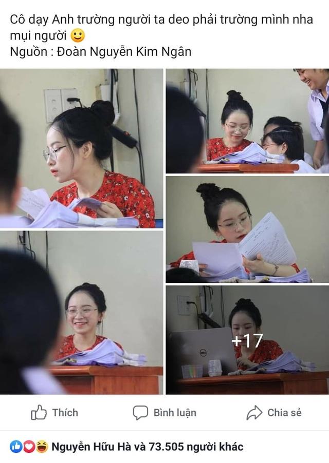 Cô giáo thực tập bất ngờ nổi tiếng với khuôn mặt trẻ như học sinh - 1