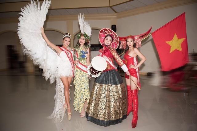 Niềm tự hào bóng đá giúp mỹ nhân Việt lọt Top tại Hoa hậu Du lịch Thế giới - 9
