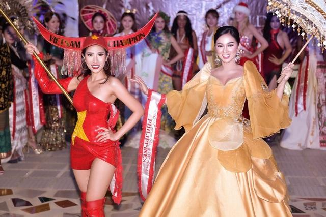 Niềm tự hào bóng đá giúp mỹ nhân Việt lọt Top tại Hoa hậu Du lịch Thế giới - 6