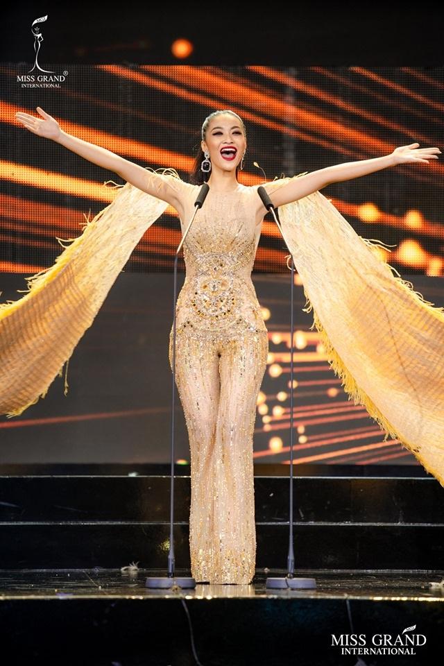 Trước chung kết Hoa hậu hoà bình quốc tế 2019, Kiều Loan dẫn đầu top thí sinh được yêu thích nhất - 1