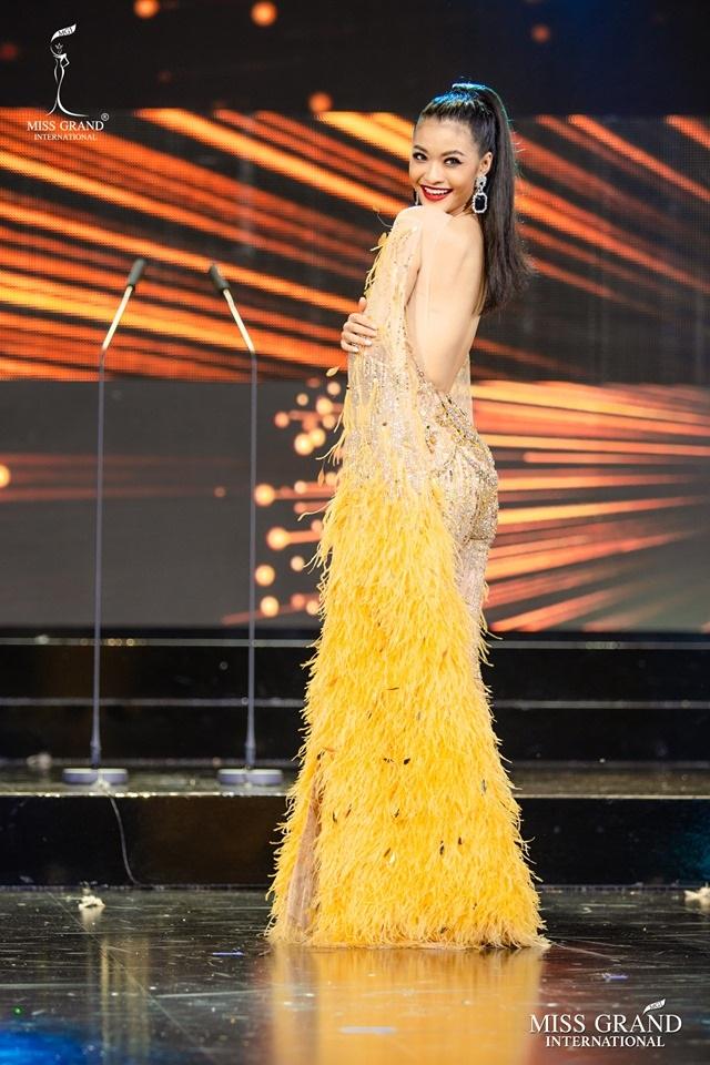 Trước chung kết Hoa hậu hoà bình quốc tế 2019, Kiều Loan dẫn đầu top thí sinh được yêu thích nhất - 2