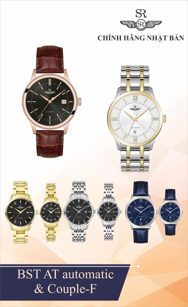 Đồng hồ SR Watch Nhật Bản ra mắt hai dòng sản phẩm mới - 2