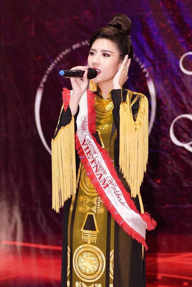 Niềm tự hào bóng đá giúp mỹ nhân Việt lọt Top tại Hoa hậu Du lịch Thế giới - 11