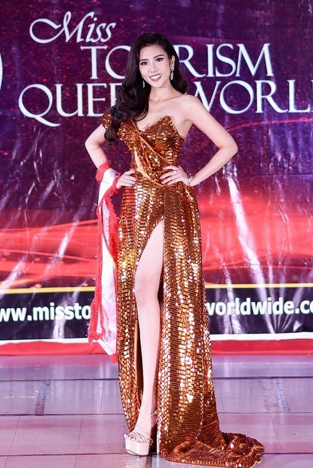 Niềm tự hào bóng đá giúp mỹ nhân Việt lọt Top tại Hoa hậu Du lịch Thế giới - 10